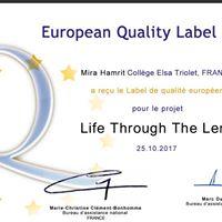 European quality label 2