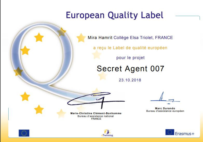Secret euro